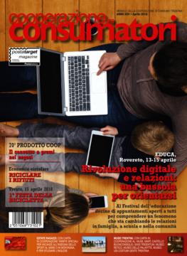 Scarica il sommario rivista Aprile 2018 Cooperazione Consumatori in formato pdf