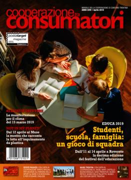 Scarica il sommario rivista APRILE 2019 Cooperazione Consumatori in formato pdf