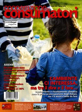 Scarica il sommario rivista AGOSTO 2019 Cooperazione Consumatori in formato pdf