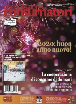 Scarica il sommario rivista GENNAIO 2020 Cooperazione Consumatori in formato pdf