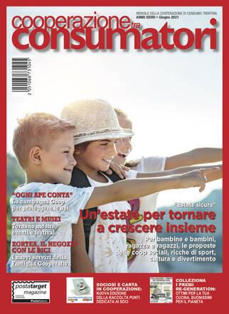 Scarica il sommario rivista GIUGNO 2021 Cooperazione Consumatori in formato pdf